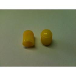 Čepička na ventilky žlutá
