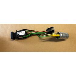 Spínač varovných světel Favorit - 12.92 černý+přerušovač