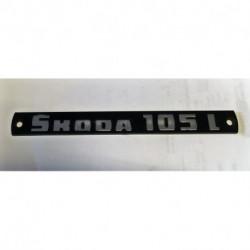 Nápis  ŠKODA 105L