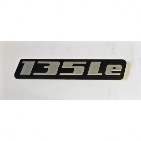 Nápis 135Le