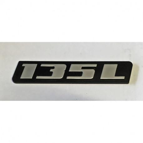Nápis 135L
